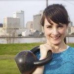 Kettlebell Workout Woman New Orleans
