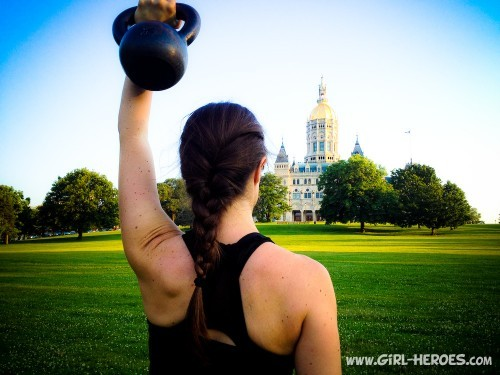 Simple Kettlebell Workout for Beginners