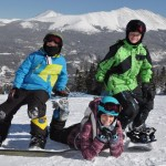 Boys on Board Snowboard Colorado